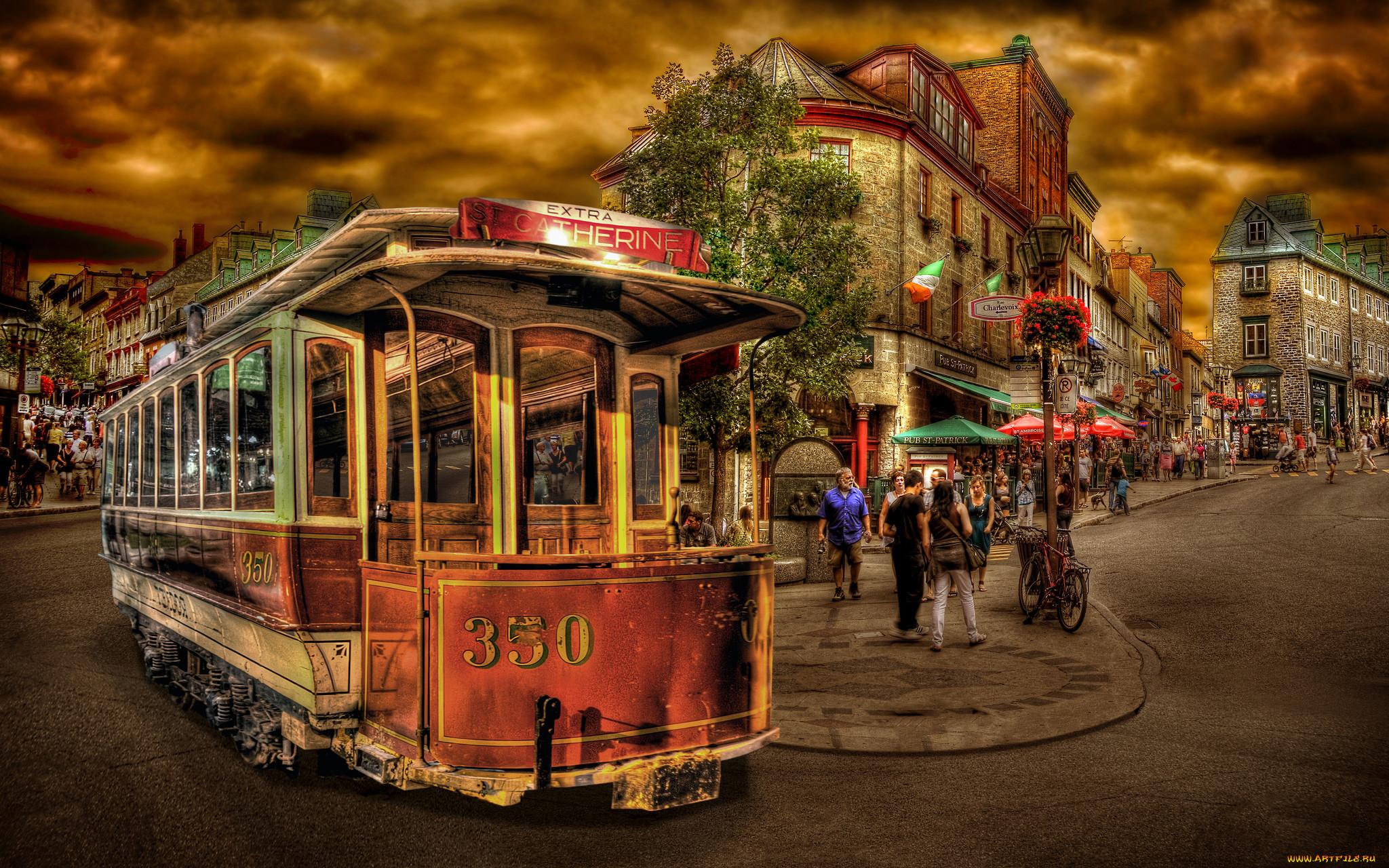 Скачать Обои Трамвай На Телефон